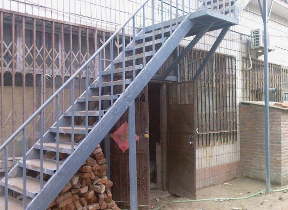 钢结构楼梯搭建